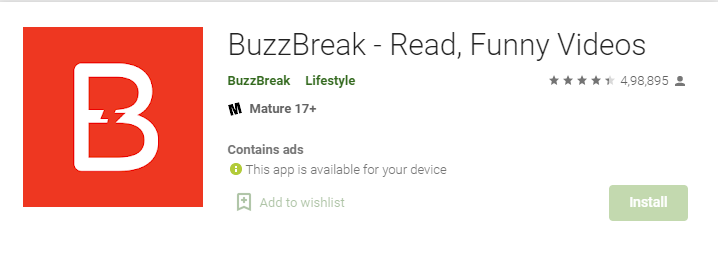 BuzzBreak - Read News And Get Paid read to Your Bank Account Free Registration