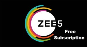 Zee5 Subscription Free How to Get Free Zee5 Subscription Free For AirTel, JIO, Vodafone [Special Tricks]